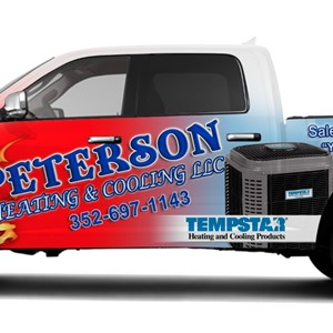 Peterson Heating&cooling Llc. Logo