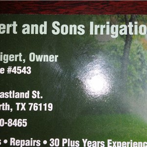 Tigert & Sons Irrigation, LLC Logo