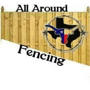 All Around Fencing Logo