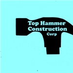 Top Hammer Construction Logo