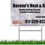 Barones Heat & Air, LLC Logo