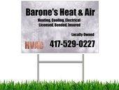 Barones Heat & Air, LLC Logo