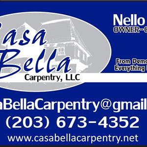 Casa Bella Carpentry. LLC Logo
