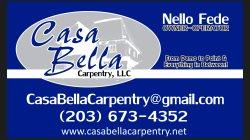 Casa Bella Carpentry. LLC Logo