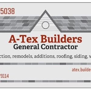 A-Tex Builders & Remodeling (atex.builders@gmail.com) Cover Photo