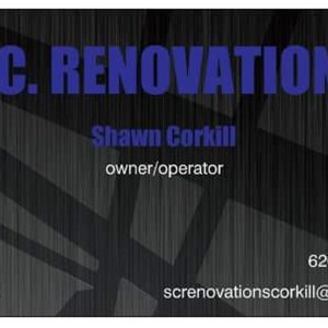 S.c. Renovations Logo