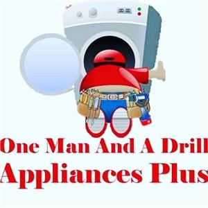 1 Man & A Drill Logo
