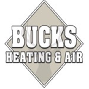 Bucks Heating and Air Conditioning Logo