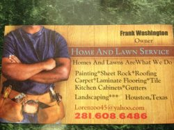home and lawn service Logo
