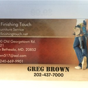 The Finishing Touch Furniture Service Logo