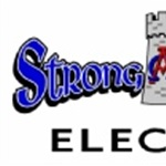 Electrician Midland Texas Strong Tower Electric Logo