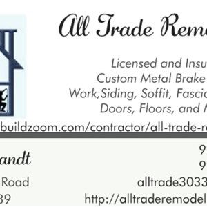 All Trade Remodeling Logo