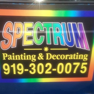 Spectrum Painting & Decorating Logo