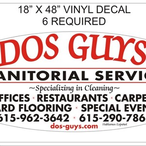 Dos Guys Janitorial services Cover Photo