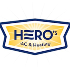 Heros Air Conditioning & Heating Logo