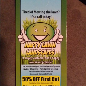Happy Lawn Landscapes Logo