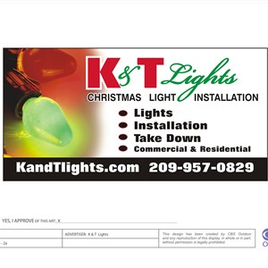 K & T Lights Logo