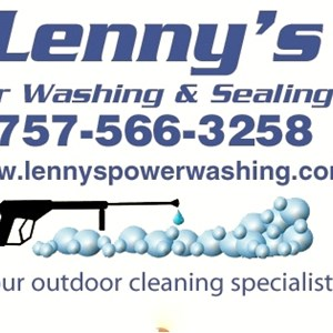 Lennys Power Washing Cover Photo