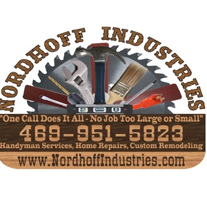 Nordhoff Industries - Home Remodeling & Home Repairs Logo