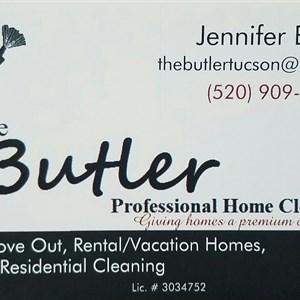 Butler Professional Home Cleaning Logo