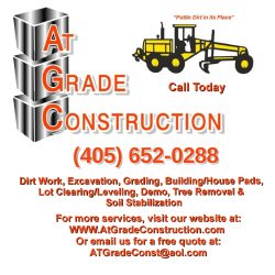 At Grade Construction, Inc. Logo