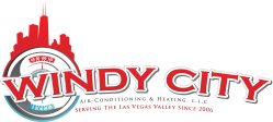 Windy City Air Conditioning and Heating Logo