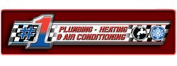 Number One Plumbing, Heating, and Air Conditioning Logo