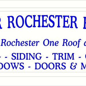 Greater Rochester Roofing Logo