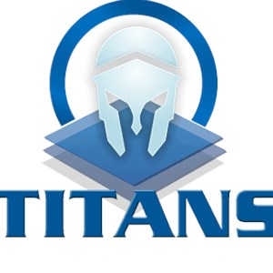 Titans windows and glass repairs Logo