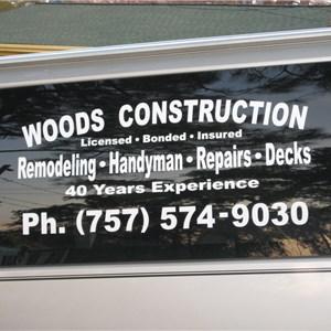 Woods Construction Logo