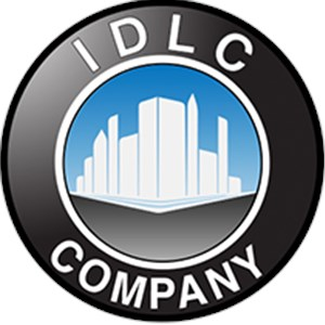 IDLC COMPANY Construction-Glass-Stone. Logo