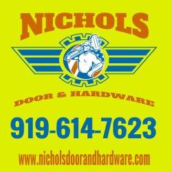 Nichols Door and Hardware Logo