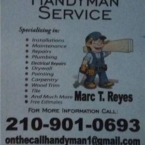 On The Call Handyman Service Logo