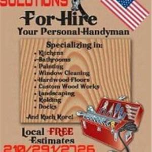 Handyman Solutions Service Logo