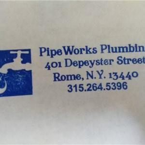 Pipeworks Plumbing Logo