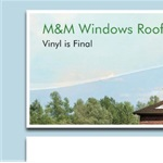 M&M Windows Roofing and Siding Cover Photo