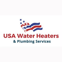 USA Water Heaters & Plumbing Services Logo
