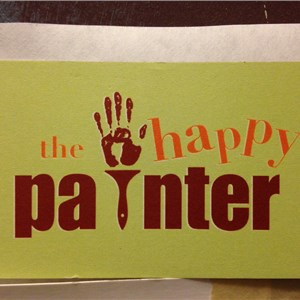The Happy Painter Logo