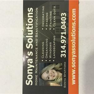 Sonyas Solutions Logo