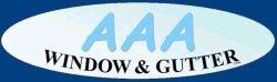 Aaa Window & Gutter Logo