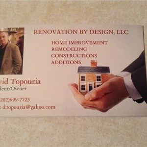 Renovation by Design LLC Logo