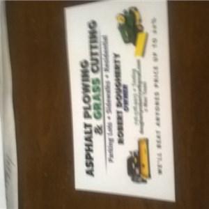 Asphalt Plowing and Jungle Grass Cutting Logo