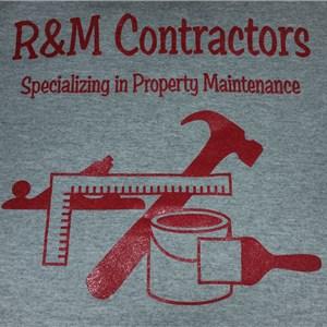 R & M Contractors Logo