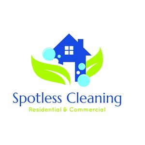Spotless Cleaning Logo