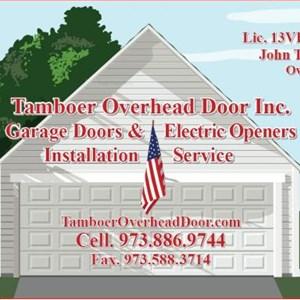 Tamboer Overhead Door Inc. Logo