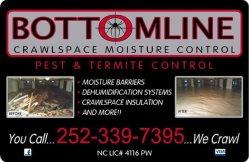 Bottomline Moisture Control Logo