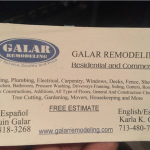 Galar Remodeling Cover Photo