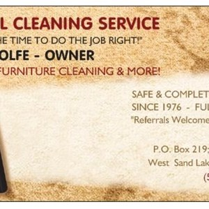 Crystal Cleaning Service Logo