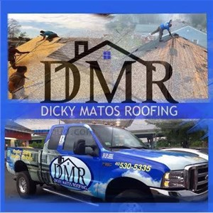 Dicky Matos Roofing Logo
