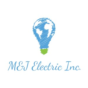 M&J Electric Inc. Logo